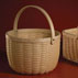 New England pounded ash basketry
