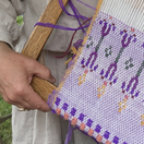 Lithuanian pick-up weaving